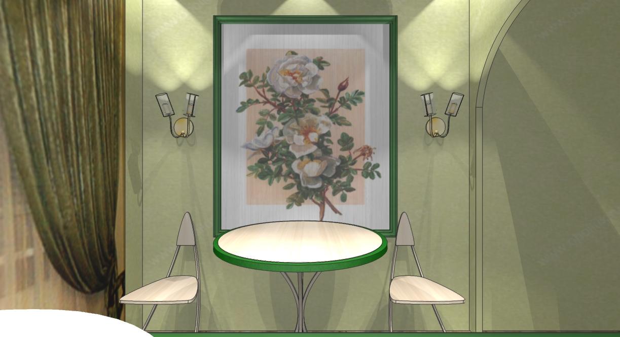 Дизайн кухни 5кв.м. вэко-стиле
