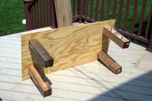 Игровой столик ради детской площадки