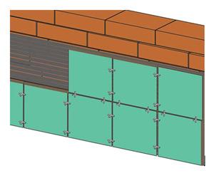 Облицовка камина керамической плиткой