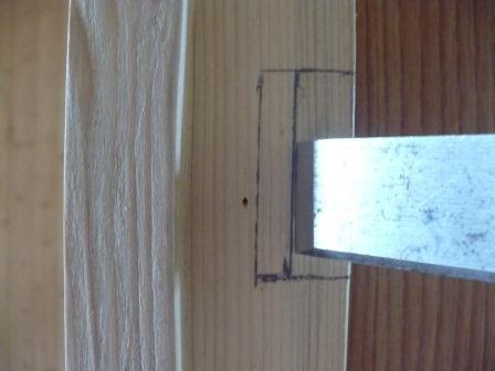 Врезка замка вмежкомнатную дверь