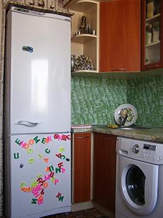 Проект маленькой кухни