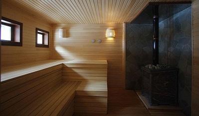 Отделка бани внутри: фотоснимок подборка