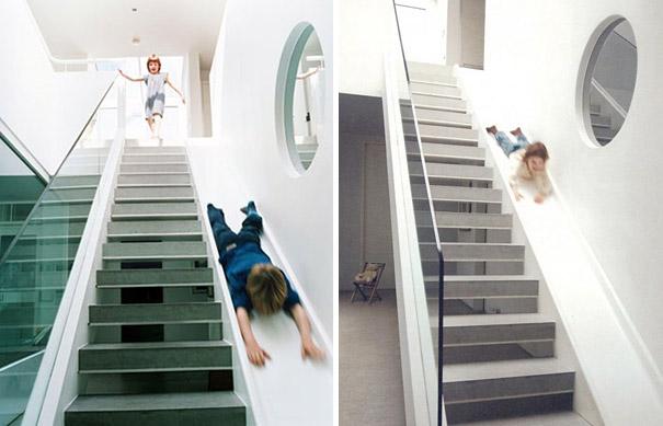 10самых необычных лестниц винтерьере частного дома— фото