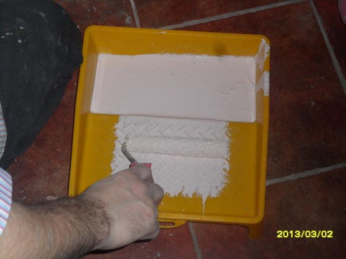 Как покрасить шпалера своими руками