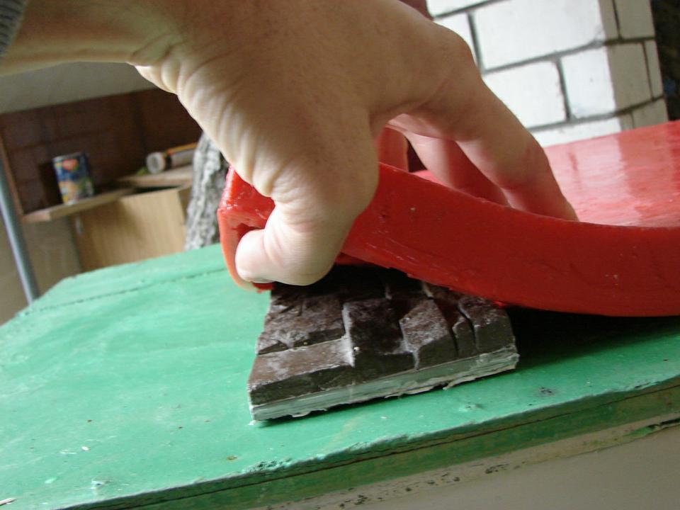 Форма силиконовая для искусственного камня своими руками
