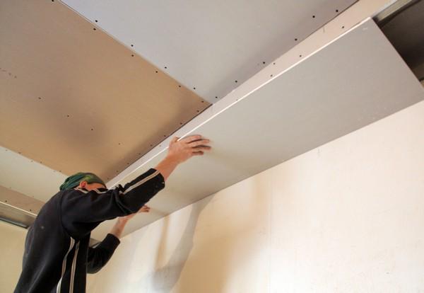 Монтаж многоуровневого потолка изгипсокартона своими руками