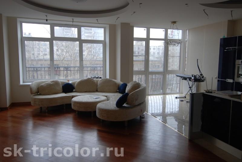 Ремонт квартир откомпании «Триколор»