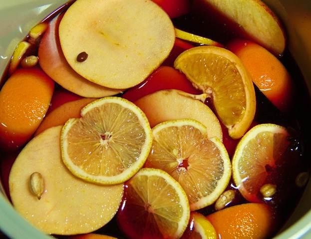 Как приготовить глинтвейн смягким фруктовым вкусом