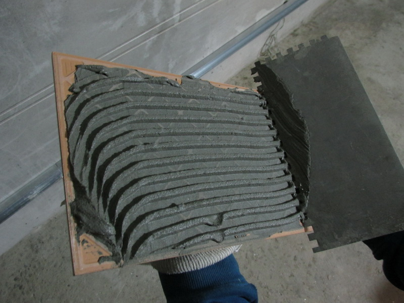 Укладка плитки настену для новичков