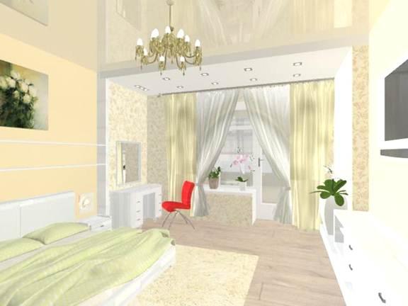 Мастер категория посозданию авторского дизайн-проекта интерьера двухкомнатной квартиры