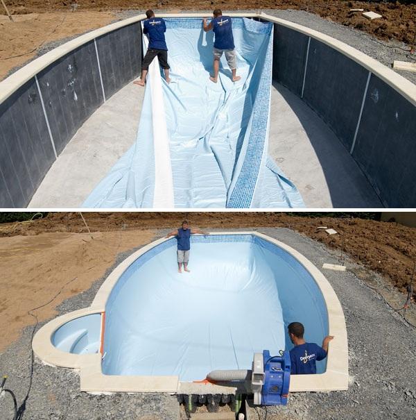 Как сделать бассейн из пленки своими руками