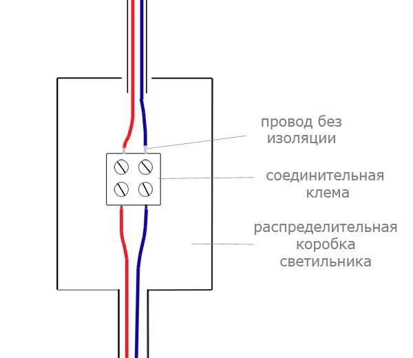 Установка встроенных светильников