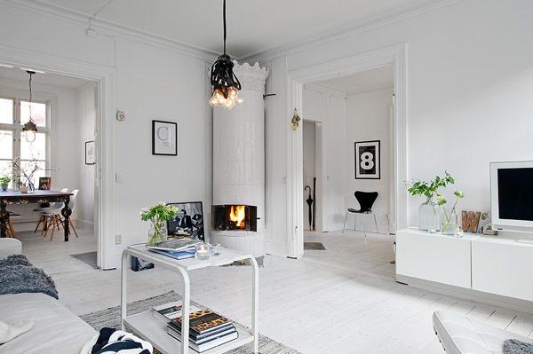 Шведский стиль  винтерьере