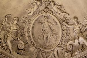 Стиль барокко  винтерьере