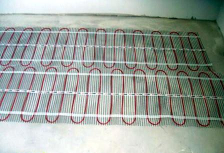 Укладка электрического теплого фалда вдоме своими руками