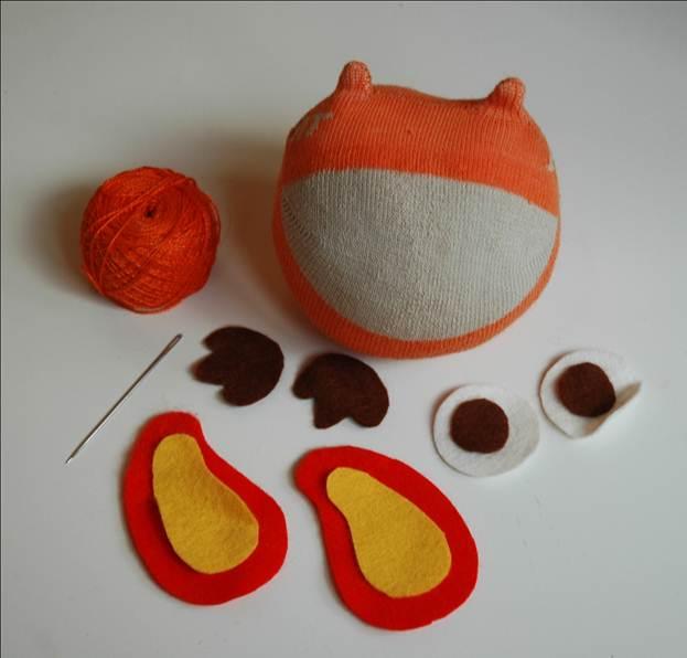 Как сделать игрушку-сову износка