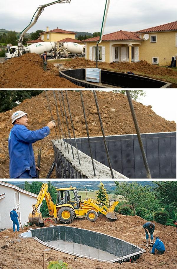Строительство бассейна: электротехнологический процесс
