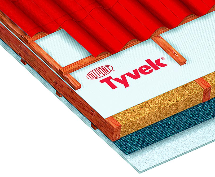 Гидроизоляционные мембраны Tyvek®— завсегда хорошая погода!