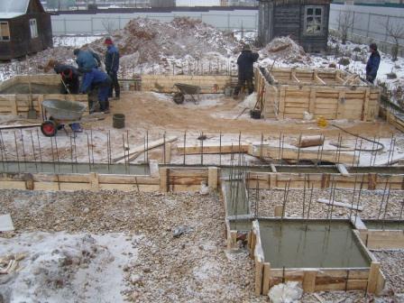 Cоветы профессионала: как  сократить сроки строительства дома. Зимнее строительство
