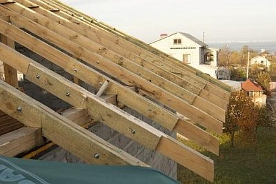 Строительство крыши дома своими руками: строй работ