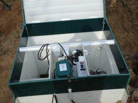 Автономная канализация частного дома набазе станции глубокой биологической очистки