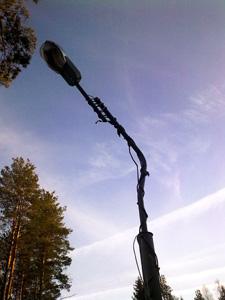 Кованые светильники для  дома иучастка: необычные идеи