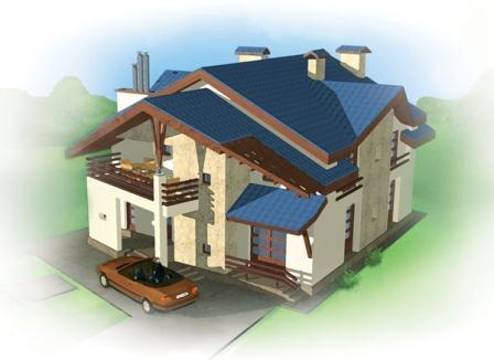 Пошаговая указание посозданию проекта дома