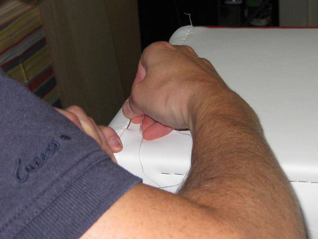 Стильный пуфик  своими руками