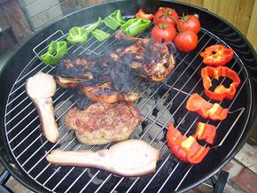 Рецепты мяса нагриле: стейк изговядины, люля баранина избаранины, жаркое  ишницель изсвинины