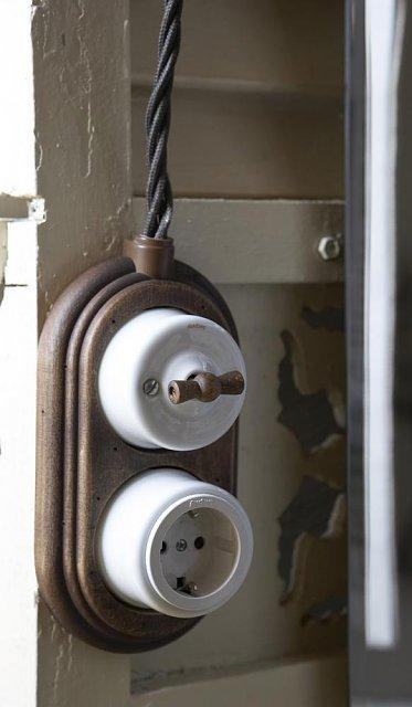 Внешняя электропроводка: причудливый возрождение ибезопасность вдоме
