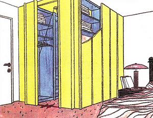 Как изготовить шкаф-кладовку