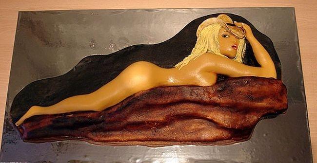 Фигурные торты, которые печально есть