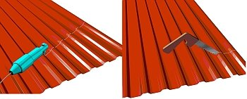 Как покрыть крышу профнастилом: кроем правильно