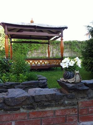 Стиль фьюжн: способность комбинирования разных садовых стилей