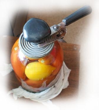 Рецепт соленых помидоров назиму