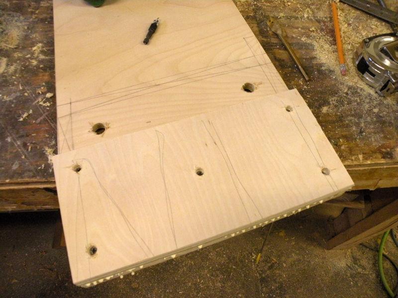 Деревянная этажерка своими руками