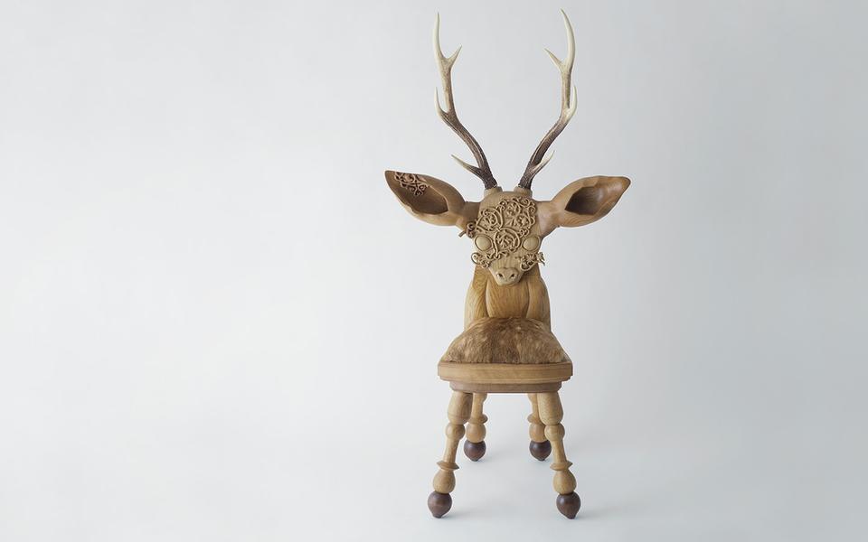 Анимализм винтерьере. Необычная дизайнерская мебель