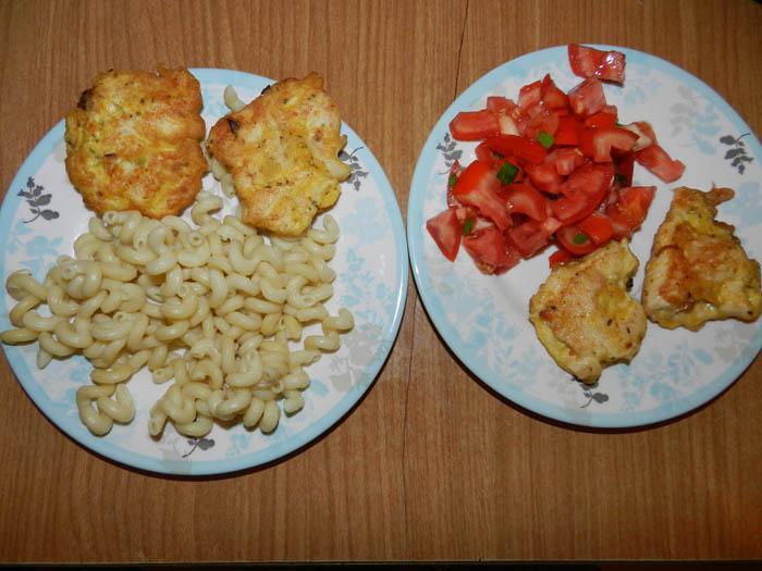 Семейный ужин: вайнварм изкурицы