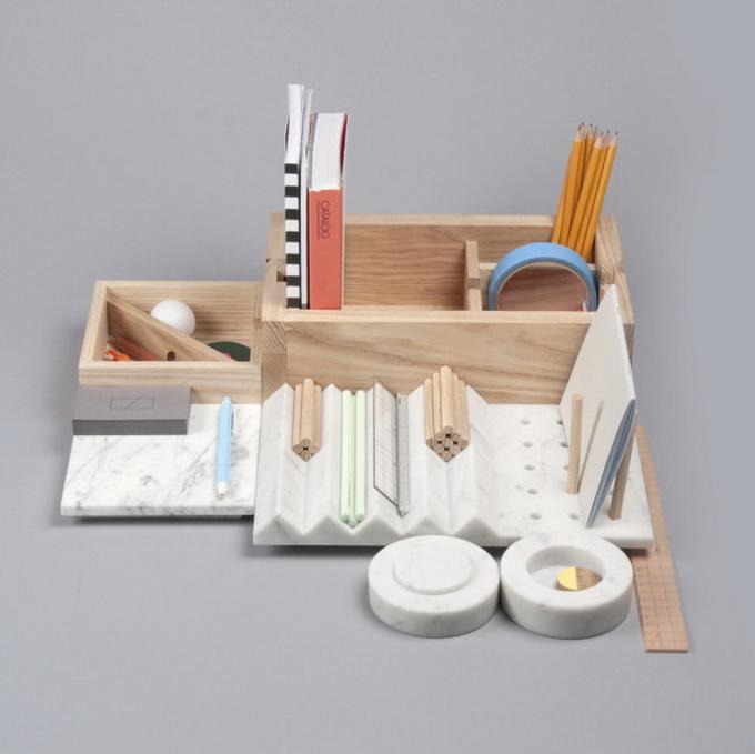 Минимализм нарабочем столе— дизайнерские органайзеры чтобы эффективной работы иучебы