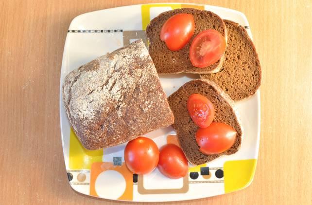 Рецепт вегетарианского хлеба без  яиц имолока