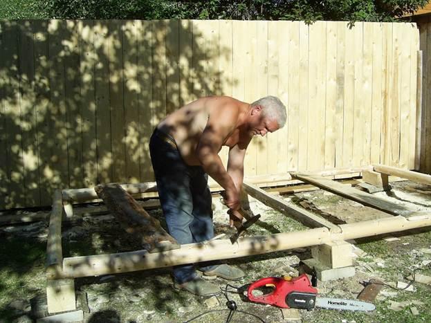 Как построить каркасный  сараюшка своими руками