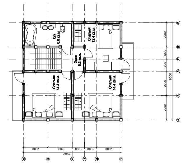 Проект дома «Галс»