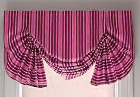 Лондонские шторы своими руками