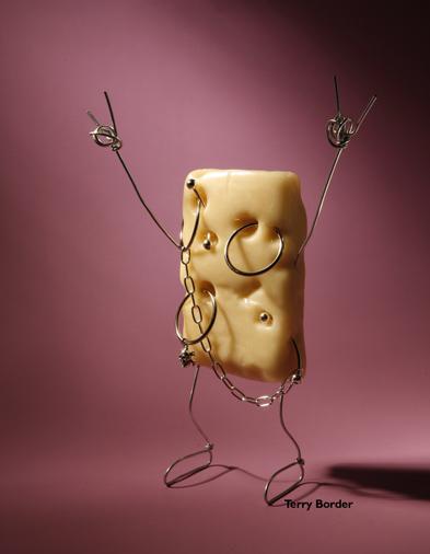 Проволочные миниатюры, живущие человеческой жизнью