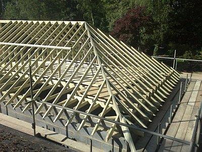 Четырехскатная крыша: чертеж, проект, схема и план
