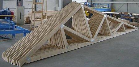 Стропила для  крыши своими руками: виды систем и установка