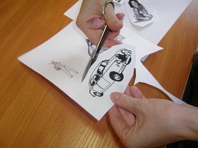Плитка-декор своими руками: переводим нанеё всяк картинка спомощью ацетона