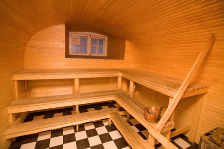 Материалы воеже отделки бани — породы древесины в  разных помещениях