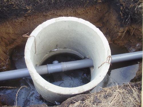 Смотровой водопроводный колодец своими руками