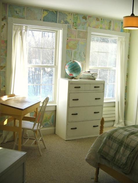 Оригинальные обои  для того чтобы детской комнаты